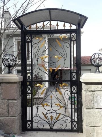 villa bahçe kapısı modelleri